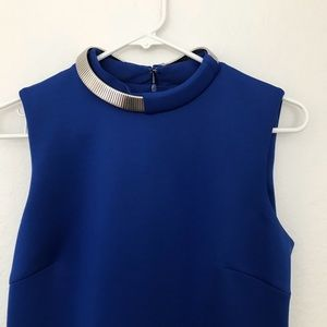 Calvin Klein Dresses - Royal Blue Calvin Klein Midi Dress Size 6